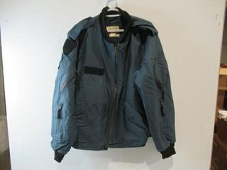 Blue Bomber Jacket Size Approx Medium
