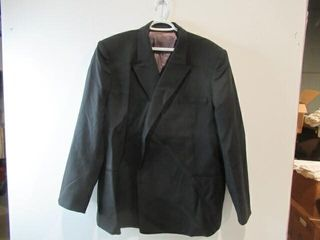 Mens Black Dress Jacket  Navy Size Xl Regular