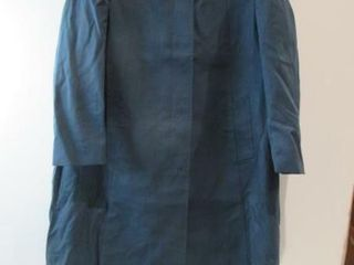 Blue Winter Dress Overcoat  Maternity Size 18
