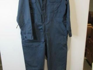Mens Blue Coveralls Size Xl Tall