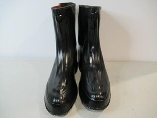 Mens Dress Rubber Over Boots Size 11 1 2