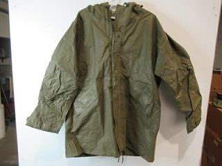 OD Rain Jacket   Rain Pants Size Approx Medium
