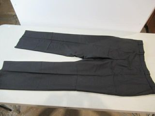 2  Mens Black   Blue Dress Pants Size Medium Tall