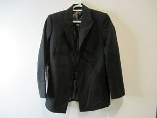 Mens Black Dress Jacket  Navy Size 10 Regular