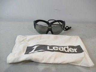 leader lightly Tinted Sunglasses w  lanyard   Bag