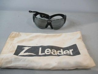 leather Ballistic Glasses w  Tinted lens