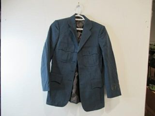 Blue Airforce Dress Jacket  Size Small Short