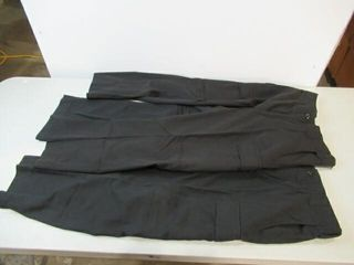 2  Black Naval Combat Pants  Size Approx Small