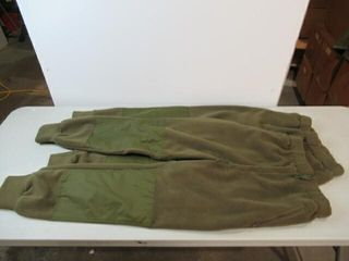 2  Green Combat Sweat Pants  Size Approx large