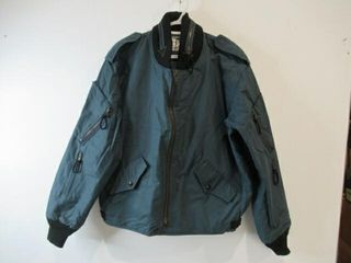 Mens Blue Bomber Jacket  Size Medium Regular