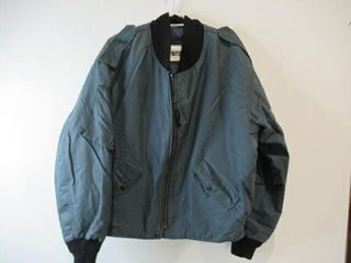 Mens Blue Bomber Jacket  Size X large Regular