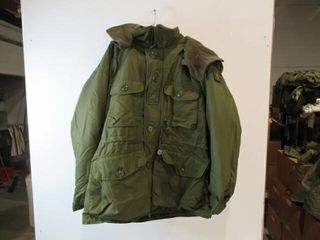 Combat Parka With Removable Hood  Size X large