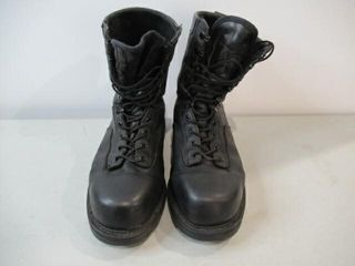 Terra Black leather CSA Safety Boots  Size 13 1 2