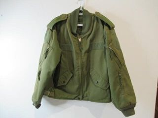 OD Green Flyers Jacket  Size Medium Short