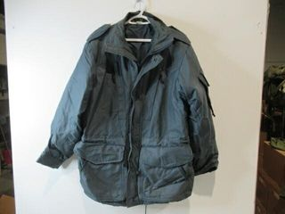 Blue Cold Weather Parka Size Small Regular