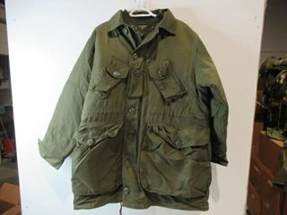 OD Green Combat parka With Removable Hood liner