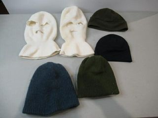 lot of 6 Assorted Touques   Belaclavas