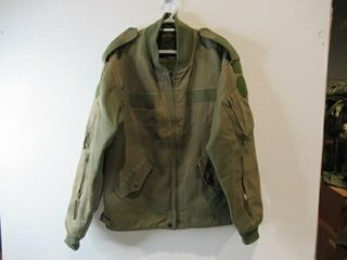 OD Green Flyers Jacket  Size large Tall