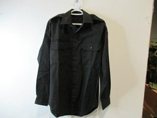 3  Black long Sleeve Naval Combat Shirts