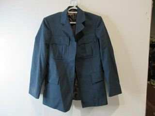 Mens Blue Dress Jacket  Size Small Short