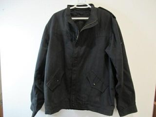 2  Black Naval Combat Jackets  Size Approx large