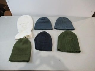 lot of 6 Assorted Touques   Belaclava