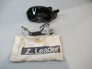 As Is Desert Goggles With Tinted lens   leader
