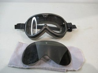 As Is Desert Goggles With Spare Tinted lens
