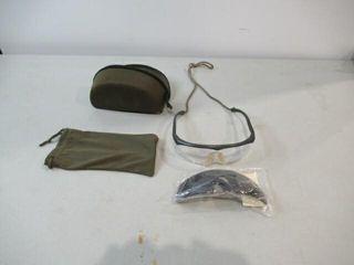 DND Ballistic Safety Glassd With Spare Tinted lens