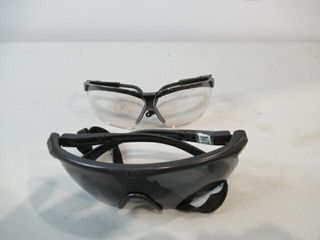 2  Ballistic Safety Glasses  1 Clear  1 Tinted