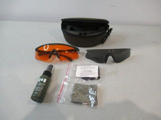 DND lens Cleaning Kit With Orange   Tinted lenses