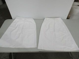 2  Skirt  Service Dress  White  lightweight