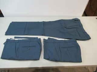 3  Pairs of Blue Dress Pants  Size Small Short