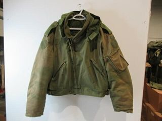 As Is OD Green Flyers Jacket  Size Medium Regular