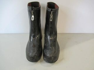 Dress Rubber Overboots  Size 11