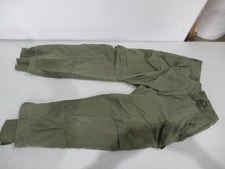 2  Green Combat Pants Size Small