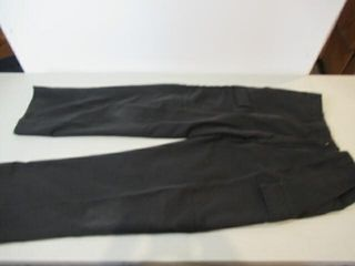 Mens Black Naval Combat Pants  Size  Small Tall