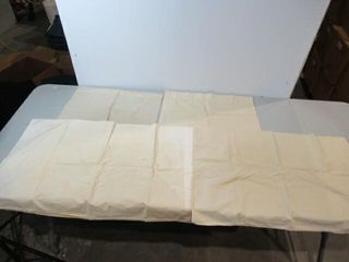 4 Beige Pillow Cases