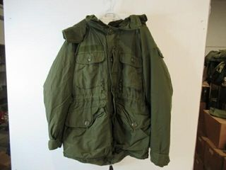 As Is Cold Weather Combat Parka  Size Medium Reg