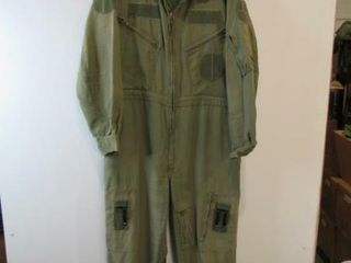 Green Flyers Coveralls  Size  Medium Reg