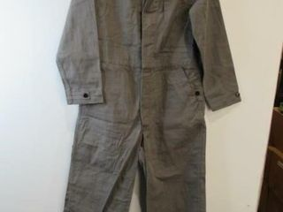 2  Grey Coveralls  Size Small Short