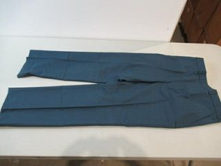 4  Mens Blue Dress Pants  Size Small Reg