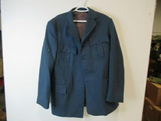 Mens Blue Dress Jacket  Size large