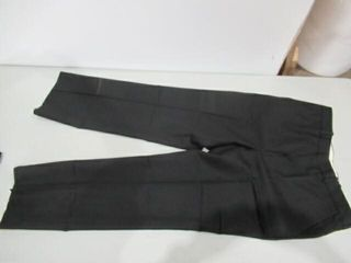 2  Mens Black Dress Pants   SIze Small Tall