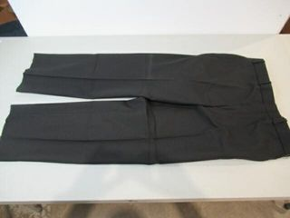 2  Mens Black Dress Pants  Size Small Short