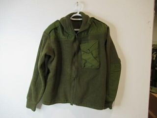 Green Combat Sweat Shirt  Size Medium Short