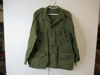 Green Combat Shirt  Size large Reg