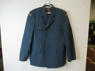 Officers Blue Dress Jackets  Size large Regular