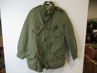 Green Combat Jacket With liners Size XX large Reg