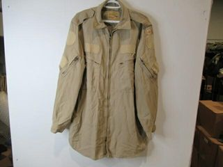 Tan Flight Shirt   Pants  Sizes  large Shirt
